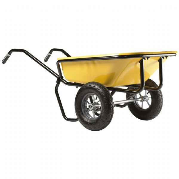 Colt 150 Litre Large Wheelbarrow | Dual Wheel Wheelbarrow